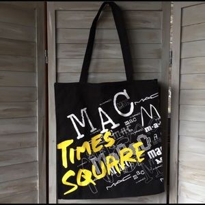 TIMES SQUARE Tote New York NYC fabric tote MAC